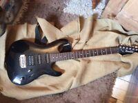 Ibanez Electric Guitar, Black, Excellent Condition