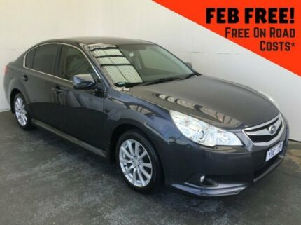 2011 Subaru Liberty B5 MY11 2.5i Lineartronic AWD Grey 6 Speed Constant Variable Sedan Mount Gambier Grant Area Preview