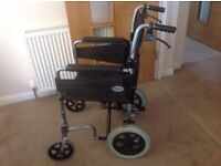 Wheelchair Foldable 3 Point Great Condition