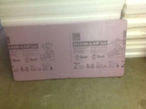 Extruded Insulation - Various Sizes