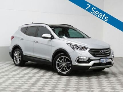 2016 Hyundai Santa Fe DM Series II (DM3) Highlander CRDi (4x4) Sleek Silver 6 Speed Automatic Wagon