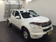 2013 Holden Colorado RG LX (4x4) White 6 Speed Automatic Spacecab Cardiff Lake Macquarie Area Preview