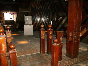Wooden Posts From Around York Tavern Lighted Dance Floor$25each Kawartha Lakes Peterborough Area image 4