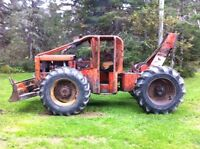Timberjack Skidder, Perkins engine