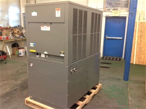 NEW 10 ton Air Cooled Glycol Chiller 25F capable OUTDOOR rated large tank R410a