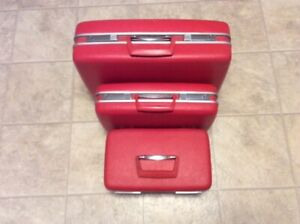 Vintage Samsonite Hard Sided Luggage