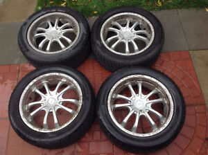 ALL SEASON TIRES WITH RIMS