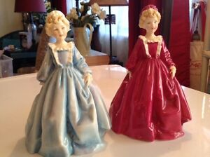 ROYAL WORCESTER RARE FIGURINES $20.- TO $25.-