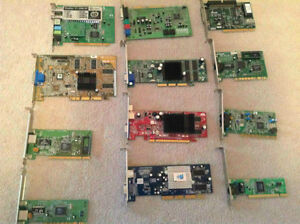Computer Video & Ethernet Cards