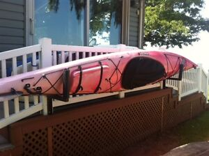 Wilderness Manitoulin Clearwater Design 13' pink ombre kayak