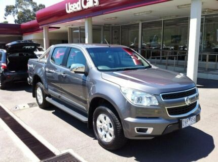 2012 Holden Colorado RG MY13 LTZ Crew Cab Grey 5 Speed Manual Utility