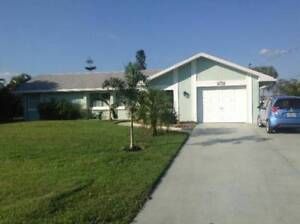 Port Charlotte Vacation Rental on Canal