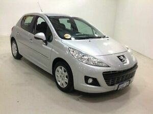 2012 Peugeot 207 A7 Series II MY11 XR Grey 4 Speed Sports Automatic Hatchback Edgewater Joondalup Area Preview