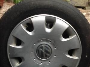 4 pneus d'hiver BFGoodrich pour Jetta