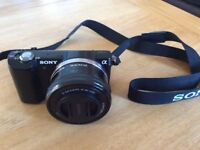 Sony A 5000 Digital Camera with 16-50 mm lens