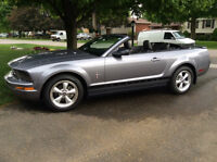 2007 Mustang, V6, 5-speed, extremely low kilometers