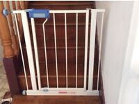 selling three Lindam stair gates- £10 each. Comes with extension