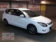 2012 Hyundai i30 FD SLX White Automatic Wagon Woodbine Campbelltown Area Preview