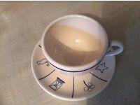 Tea Leaf Reading Cup & Saucer Set