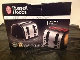 Brand NEW Russell Hobbs Black Legacy Toaster