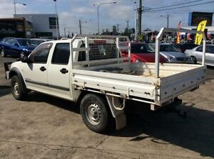 2004 Holden Rodeo RA LX (4x4) White 5 Speed Manual Crewcab Cardiff Lake Macquarie Area Preview
