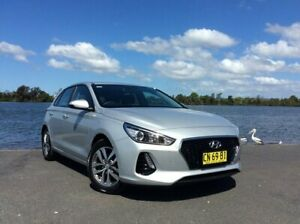 2017 Hyundai i30 PD Active Silver 6 Speed Auto Sequential Hatchback Taree Greater Taree Area Preview
