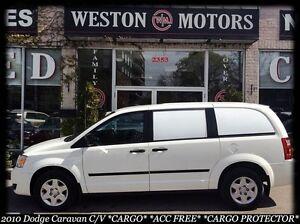 2010 Dodge Grand Caravan C/V*CARGO*ACC FREE*CARGO PROTECTOR*