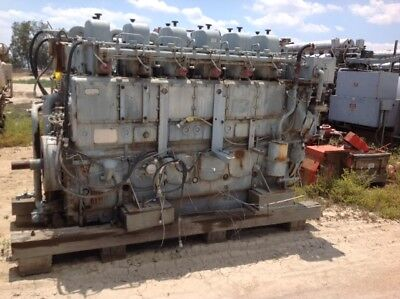 White Superior Natural Gas Engine