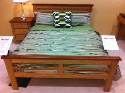 Two double beds near new with matresses and matching covers