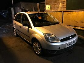 Ford Fiesta 1.25 Manual. *12 Months MOT*. £695 ONO