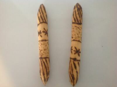 Australian Aboriginal wooden Clap Sticks