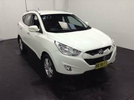 2012 Hyundai ix35 LM MY11 Elite (AWD) White 6 Speed Automatic Wagon Cardiff Lake Macquarie Area Preview