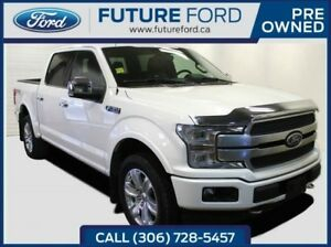 2018 Ford F-150 Platinum|360 CAMERA|SPRAY IN LINER|FX4PACKAGE