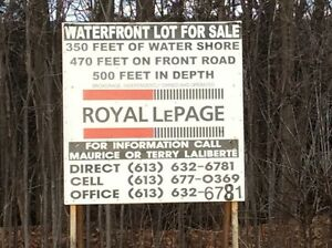 WATERFRONT BUILDING LOTS! CHUTE-A-BLONDEAU, ONTARIO West Island Greater Montréal image 8