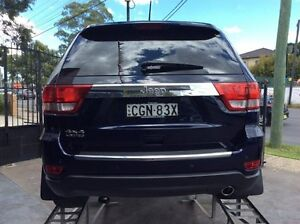 2012 Jeep Grand Cherokee WK MY13 Limited (4x4) 5 Speed Automatic Wagon Homebush Strathfield Area Preview