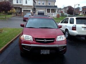 2002 Acura MDX Touring For Parts, Scrap or Winter Beater!