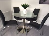Round Glass Dining table John Lewis