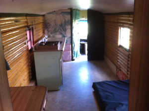 Motor Home (School Bus Conversion), Small House?