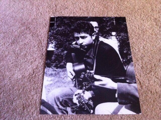Bob Dylan Cool Vintage 8x10 Photo #2 Live Folk Music