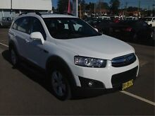2013 Holden Captiva CG Series II MY12 White 6 Speed Sports Automatic Wagon Cardiff Lake Macquarie Area Preview
