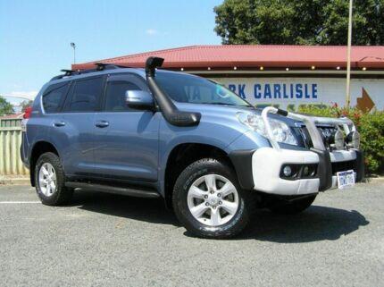 2012 Toyota Landcruiser Prado GXL Blue 6 Speed Manual Wagon Victoria Park Victoria Park Area Preview