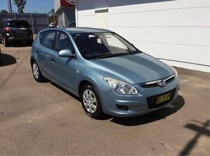 2009 Hyundai i30 FD MY09 SX Blue 4 Speed Automatic Hatchback Cardiff Lake Macquarie Area Preview