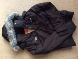 SoulCal Black Hooded Jacket