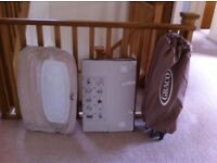 Graco travel Cot with changing station