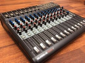 Alesis MultiMix Firewire 16, 18 inputs for recording via Firewire. Reduced price for quick sale.