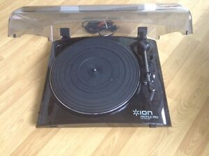 As new: Ion Profile Pro turntable. Only asking $85