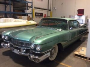 Classic 1959 Cadillac Series 62 4 Door Sedan