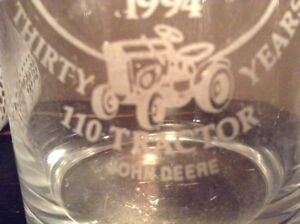 Verre de collection John Deere (dealer limited edition 1994)