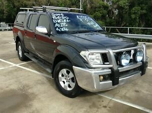 2006 Nissan Navara D40 ST-X (4x4) Black 5 Speed Automatic Dual Cab Pick-up Morayfield Caboolture Area Preview