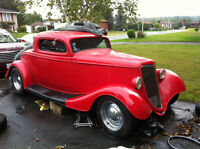 '34 Ford - Cherry Red Coupe